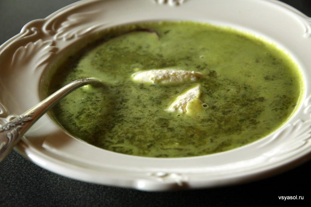 суп щавелевый с яйцом рецепт с фото