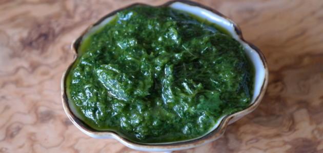 Португальский зеленый соус Piso